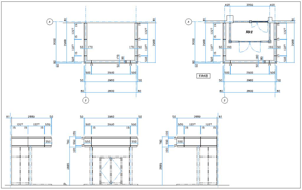 幕板 CAD